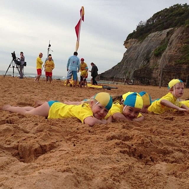 Bilgola SLSC Nippers Flags