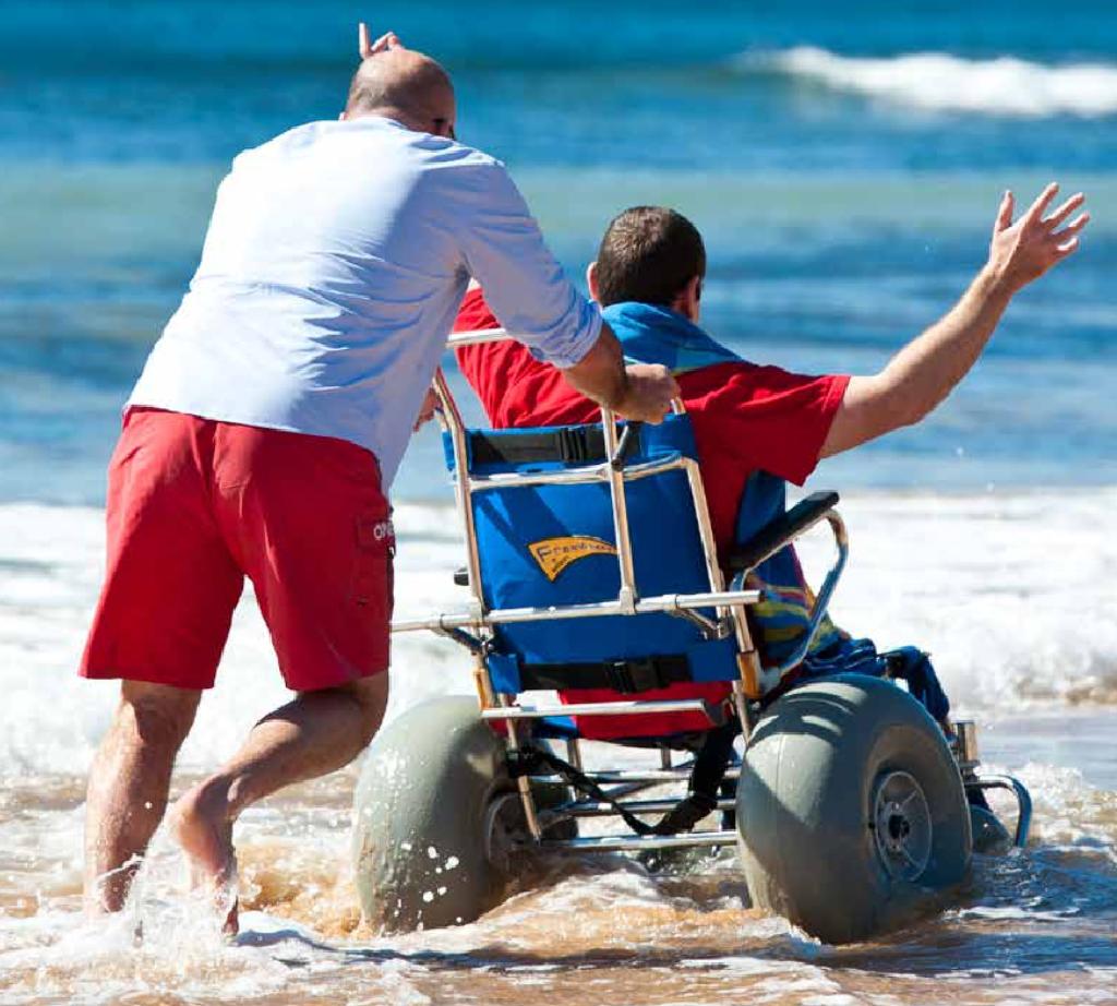 Beach Wheelchair | Bilgola SLSC