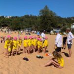 Bilgola SLSC   Nippers on Sand
