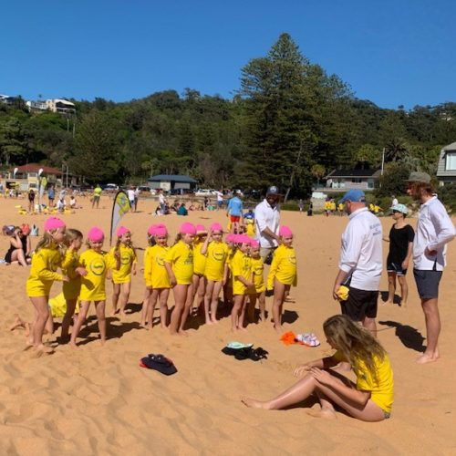 Bilgola SLSC | Nippers on Sand